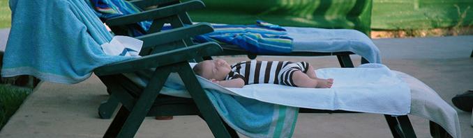 Piscine pour bébés