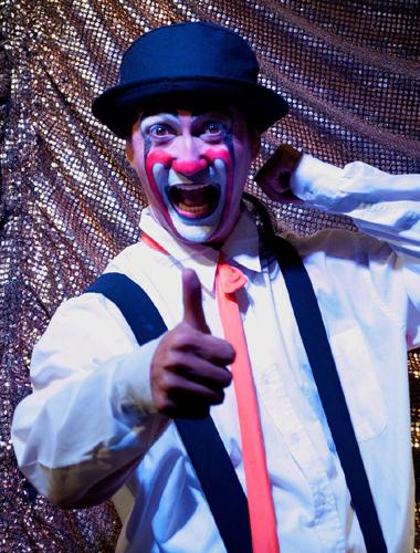 Clown pour anniversaire d'enfant