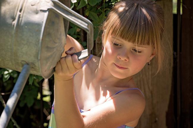 activités au jardin pour enfants