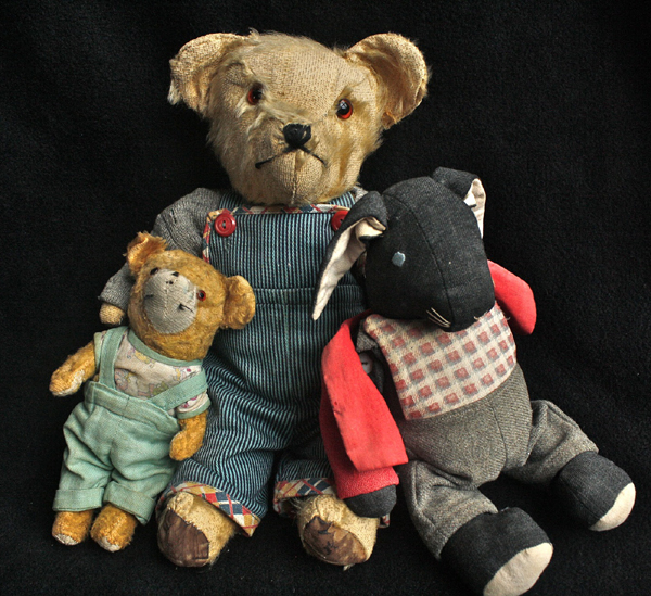ours en peluche ancien